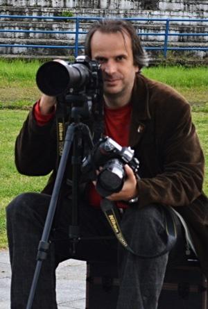 Vladimír Adámek počas fotenie
